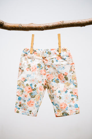Floral Knee Length Shorts