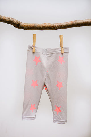 Stars Knee Length Leggings