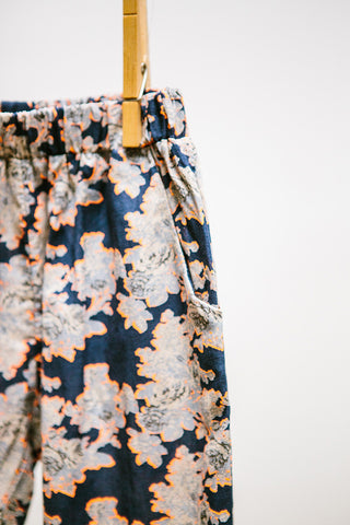 Floral Prints Baggy Pants