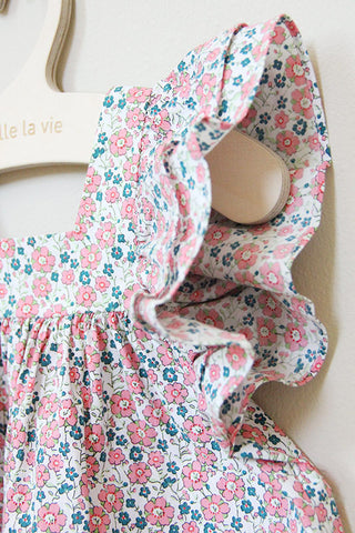 Floral Wing Dress