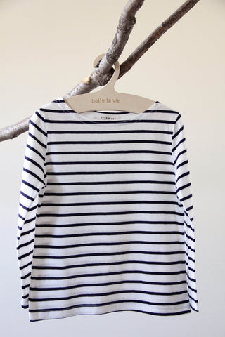 Boatneck Stripe Tee