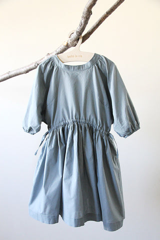 French Dress Mint Blue