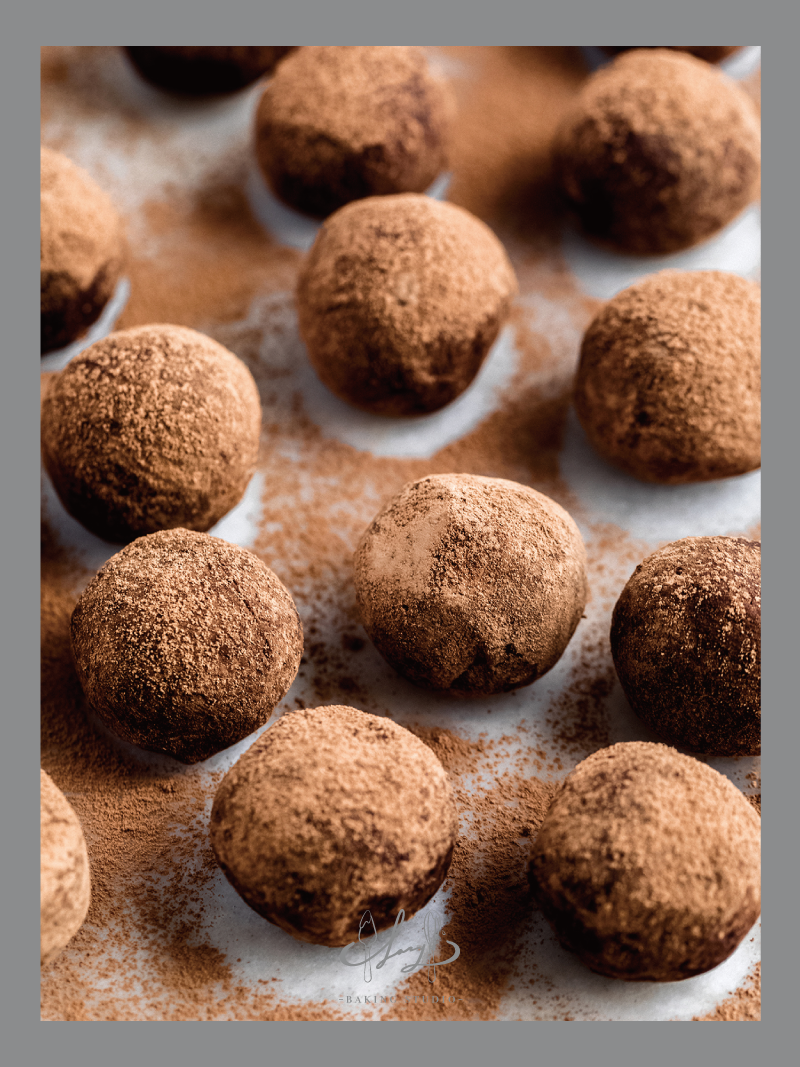 Chocolate Truffles | LazyBaking Studio | BakeAtHome Recipe | Hong Kong