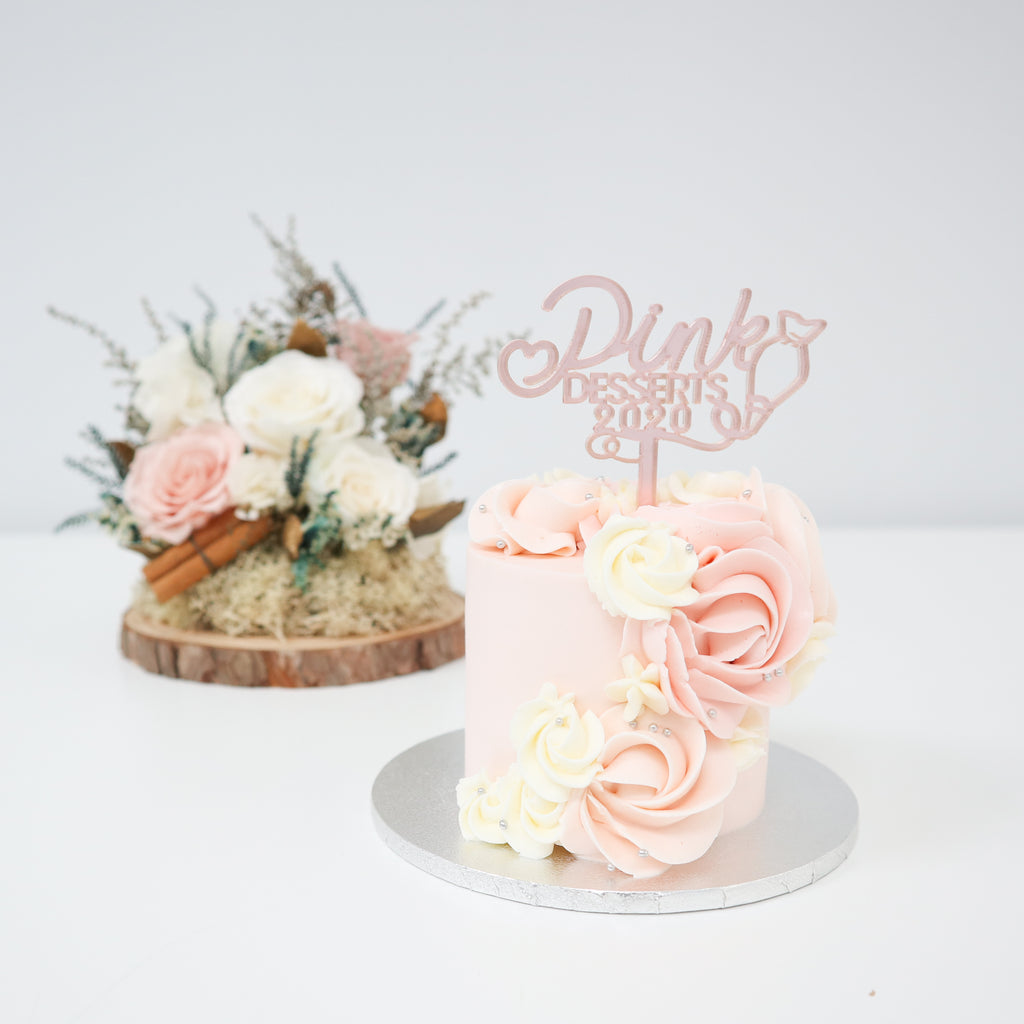 Pink Desserts 2020 Mini Cake Workshop
