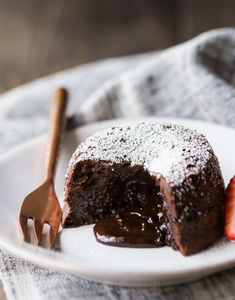 Chocolate Lava Cake | Lazy Baking Studio | BakeAtHome | Hong Kong