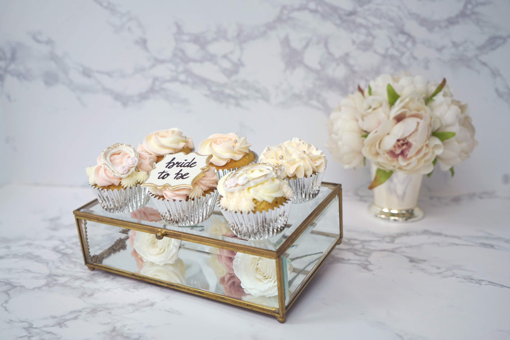 Bridal Shower Cupcake | Lazy Baking Studio | Private Class | Hong Kong