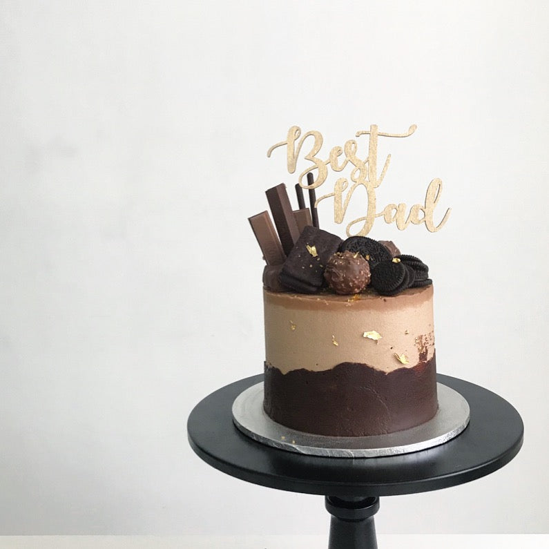 Father's Day | Lazy Baking Studio | Cake Workshop | Hong Kong