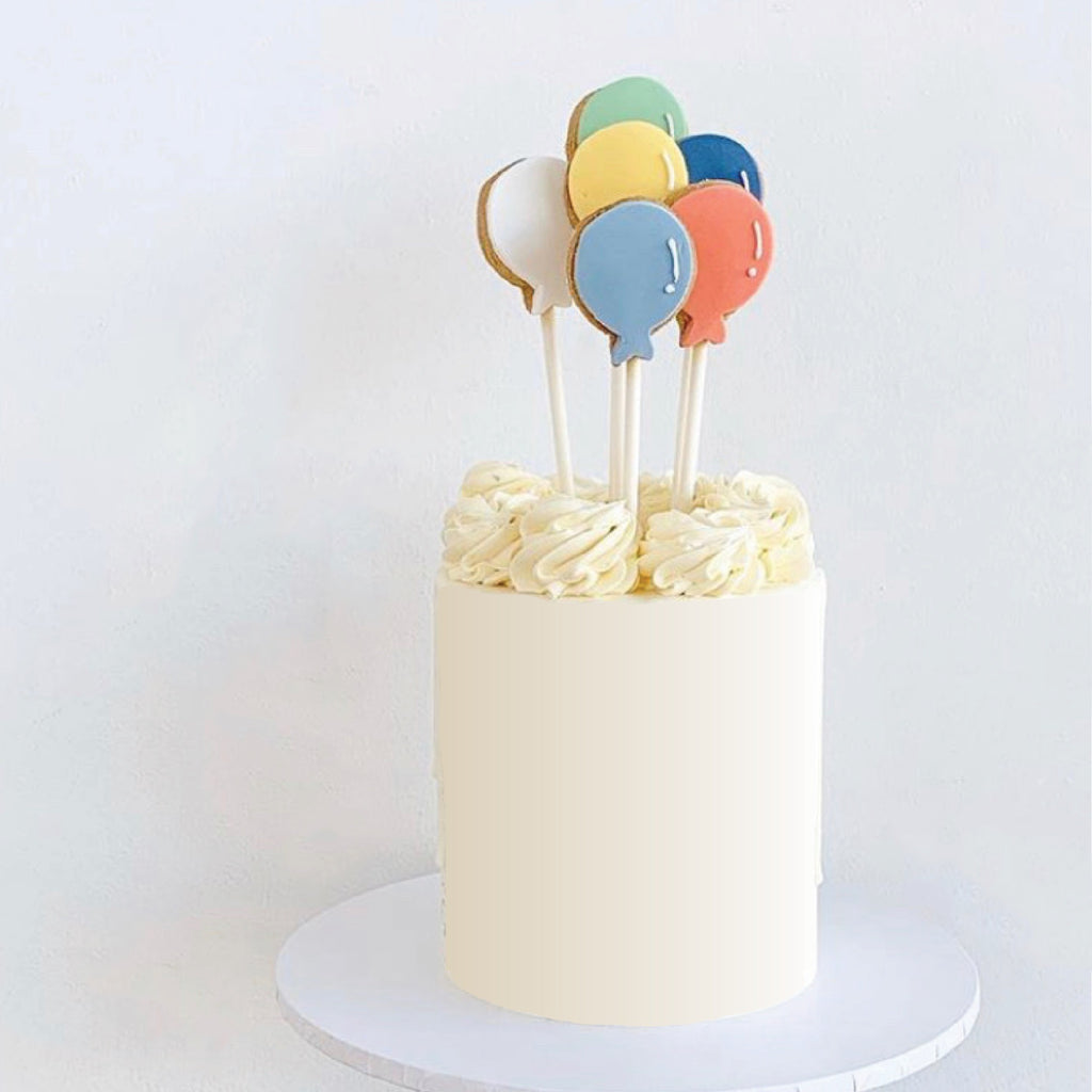 Balloon Cookie Buttercream Cake [Vanilla Bean]