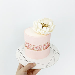 Fault Line Cake | LazyBaking Studio | Workshops | Hong Kong