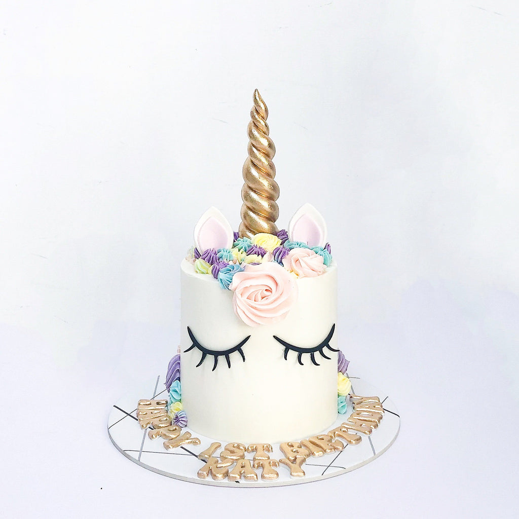 Unicorn Cake [Passionfruit Chocolate] - Pre-Baked