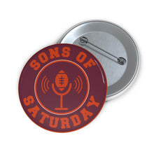 Load image into Gallery viewer, Sons of Saturday Logo Gameday Pin