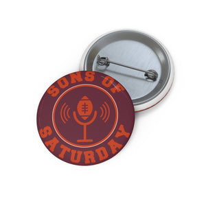 Sons of Saturday Logo Gameday Pin