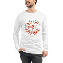 Load image into Gallery viewer, Sons of Saturday Long Sleeve (Orange Logo)