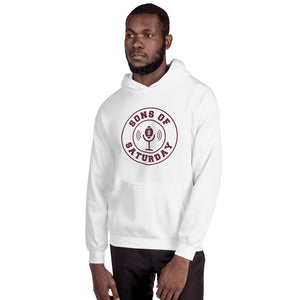 Sons of Saturday Hoodie (Maroon Logo)