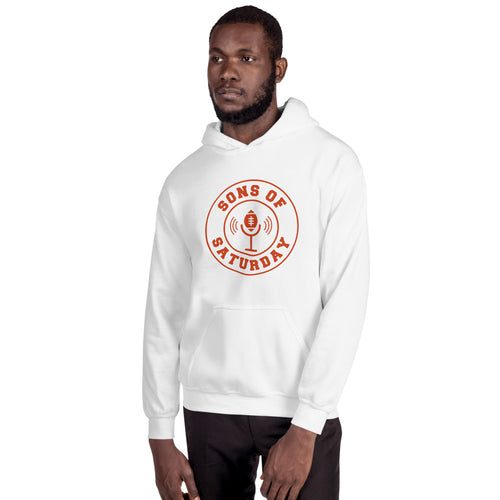 Sons of Saturday Hoodie (Orange Logo)