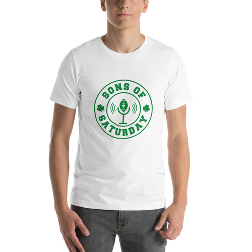 Sons of Saturday Tee (Green Logo)