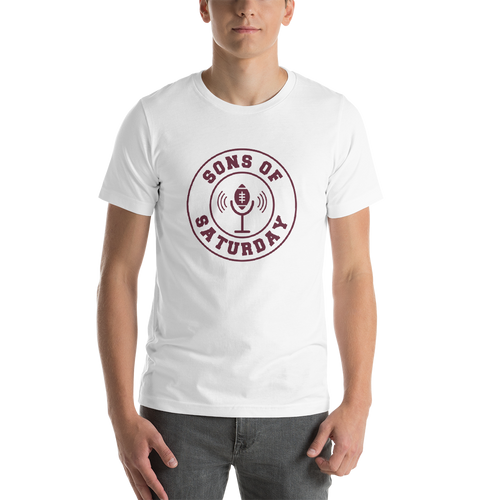 Sons of Saturday (Maroon Logo)
