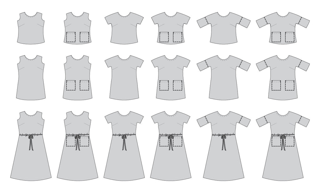 Lottie Dress Shirt Pdf Sewing Pattern Christine Haynes