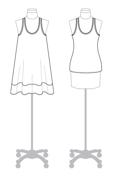 Rumi Tank PDF Sewing Pattern