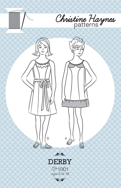 Derby Dress PDF Pattern