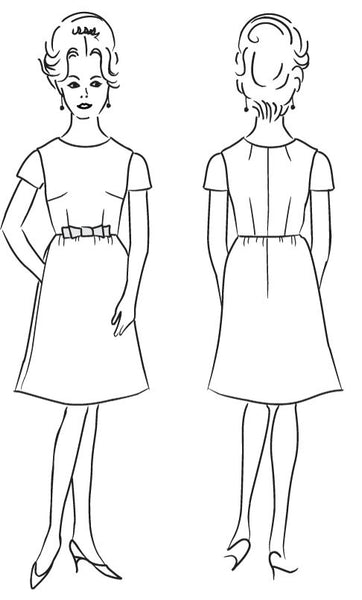 Emery Dress PDF Pattern
