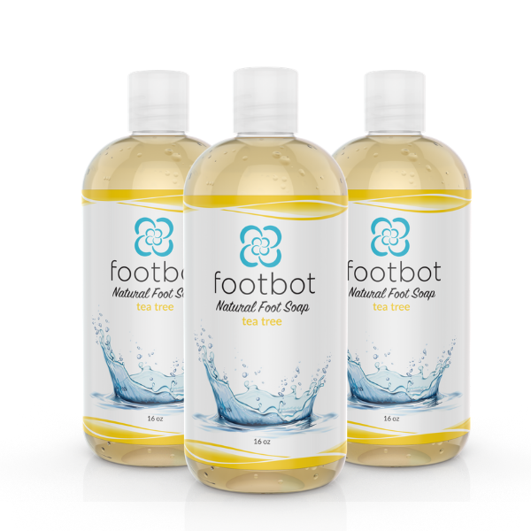 Footbot™️ Tea Tree Oil Liquid Soap Bundle 3-Pack