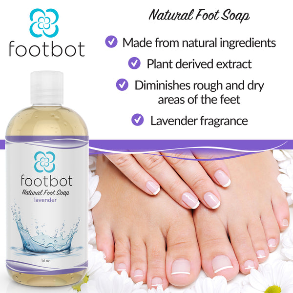 Footbot™️ Lavender Oil Liquid Soap