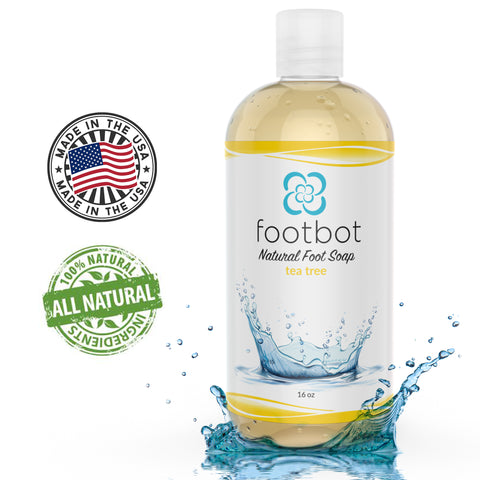 Footbot™️ Tea Tree Oil Liquid Soap