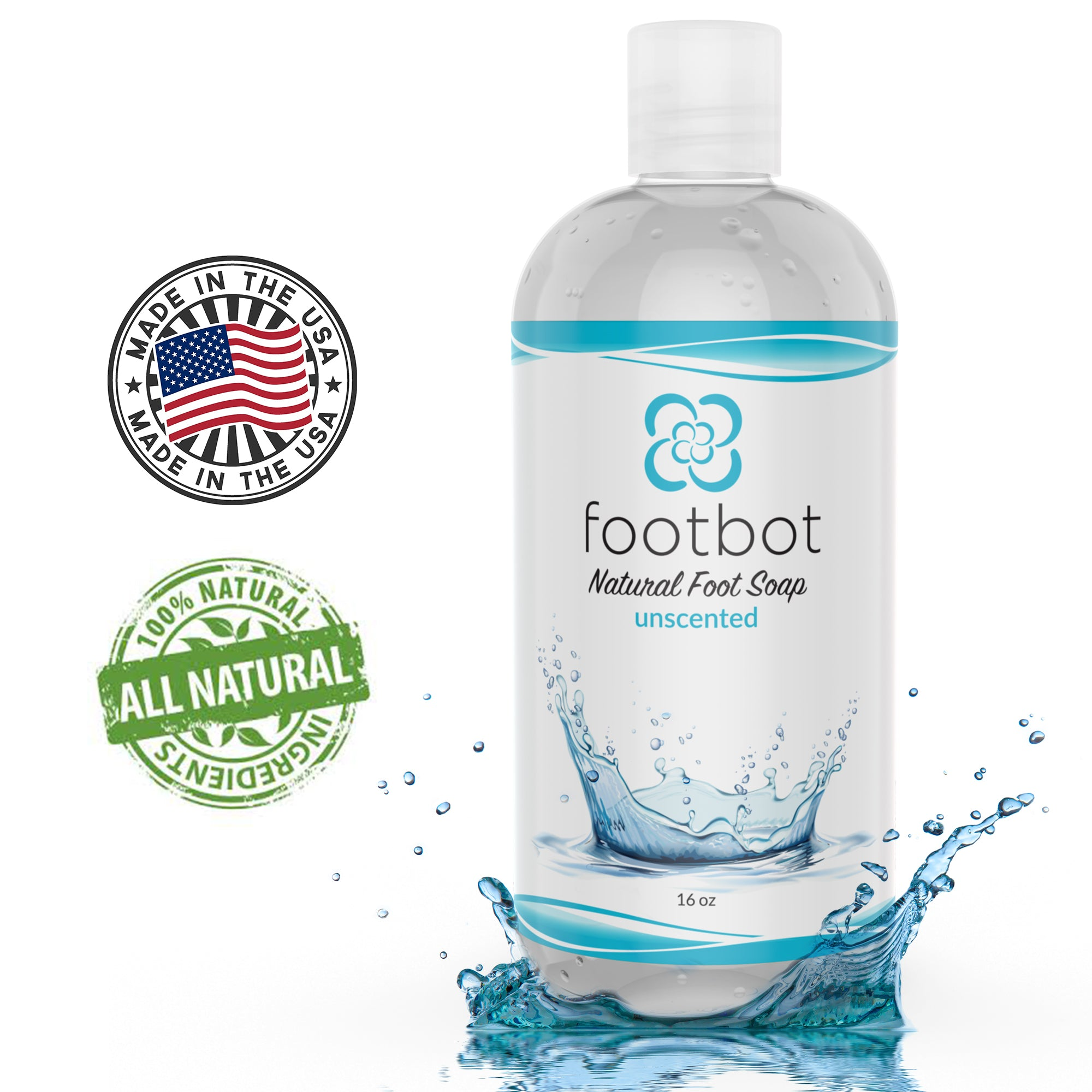 Footbot™️ Unscented Natural Foot Soap