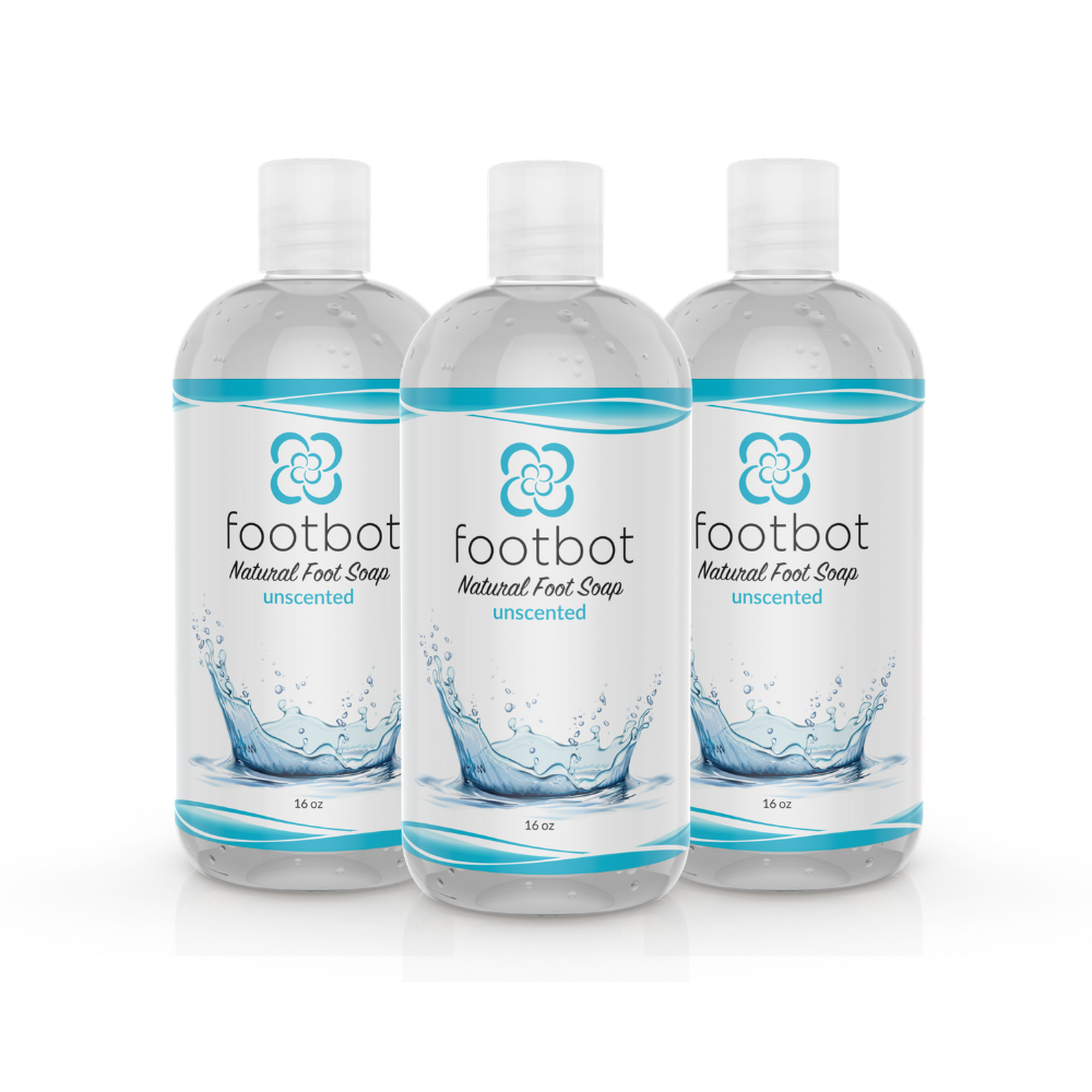 Footbot™️ Unscented Natural Foot Soap Bundle 3-Pack