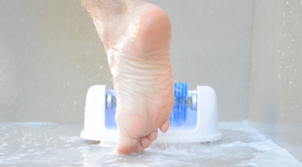 Footbot™️ Cleanser Shower Foot Scrubber (Blue Brush)