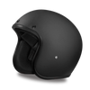 D.O.T Cruiser Dull Black Helmet