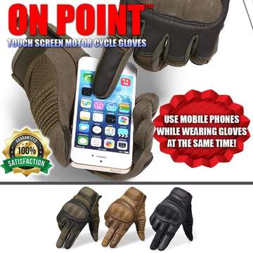 ON Point™ Touch Screen Motor Cycle Gloves