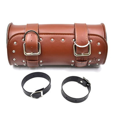 Motorcycle Leather Tail Bag