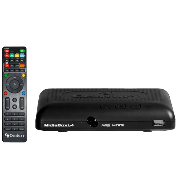 Receptor TV Digital CENTURY MIDIA BOX B4 HDTV