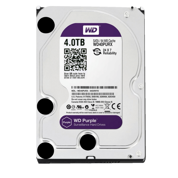 HD Intelbras/Western Digital 4TB