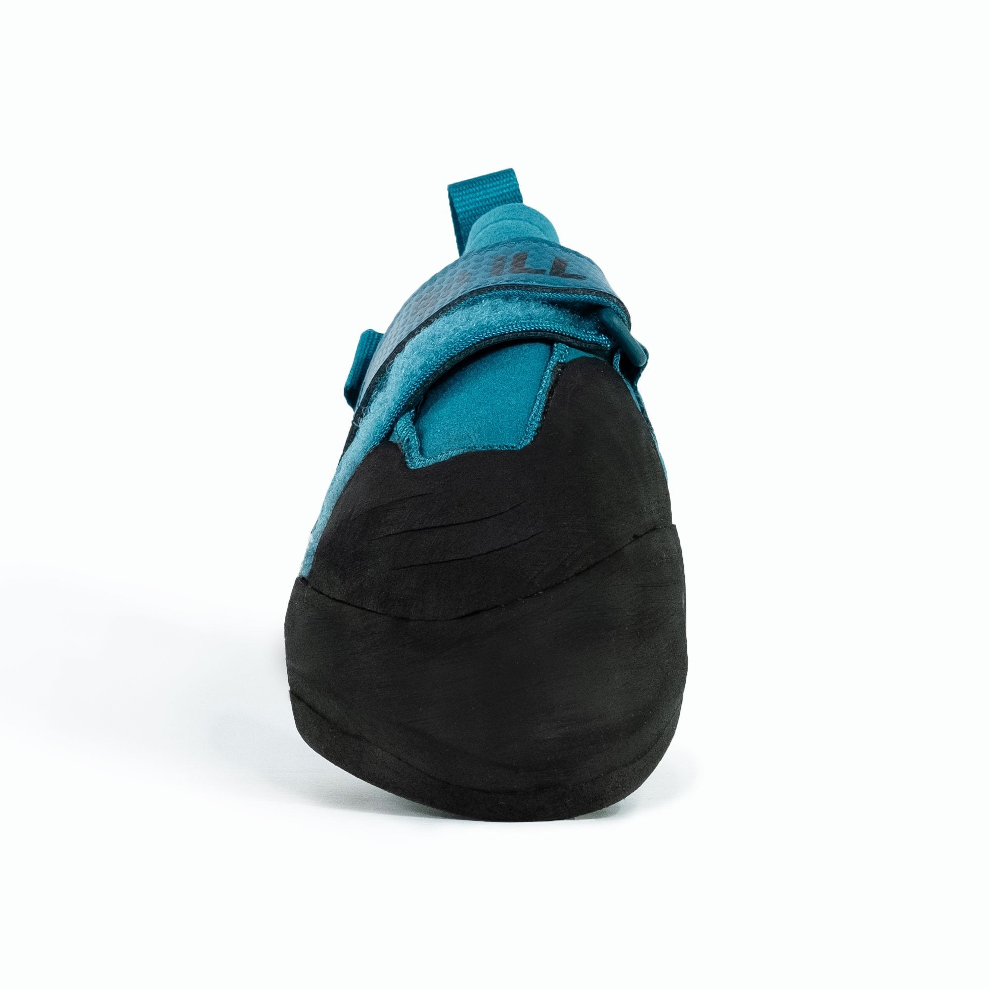 So iLL Free Range Pro Rock Climbing Shoe in Blue Spruce – Front View