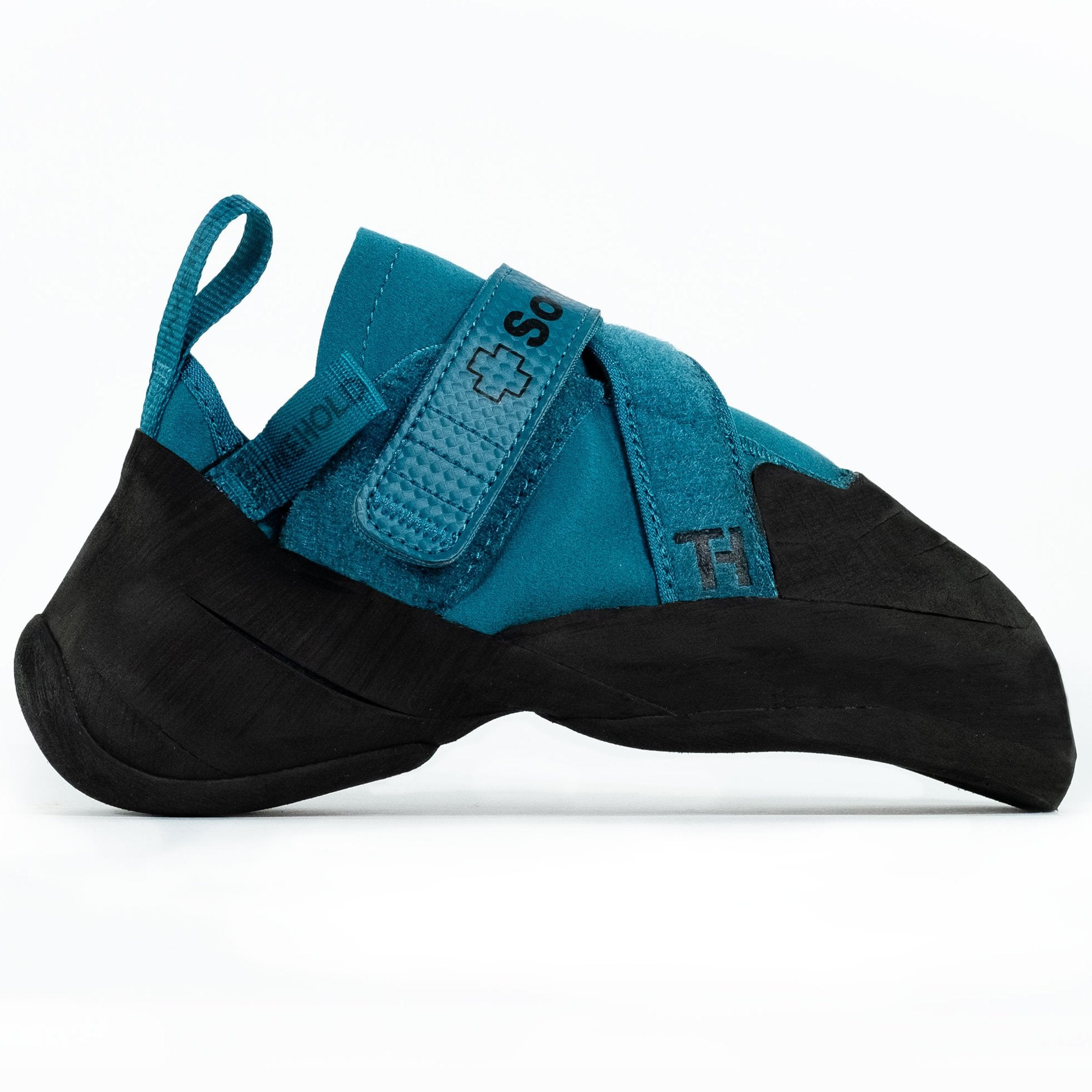 So iLL Free Range Pro Rock Climbing Shoe in Blue Spruce – Side View