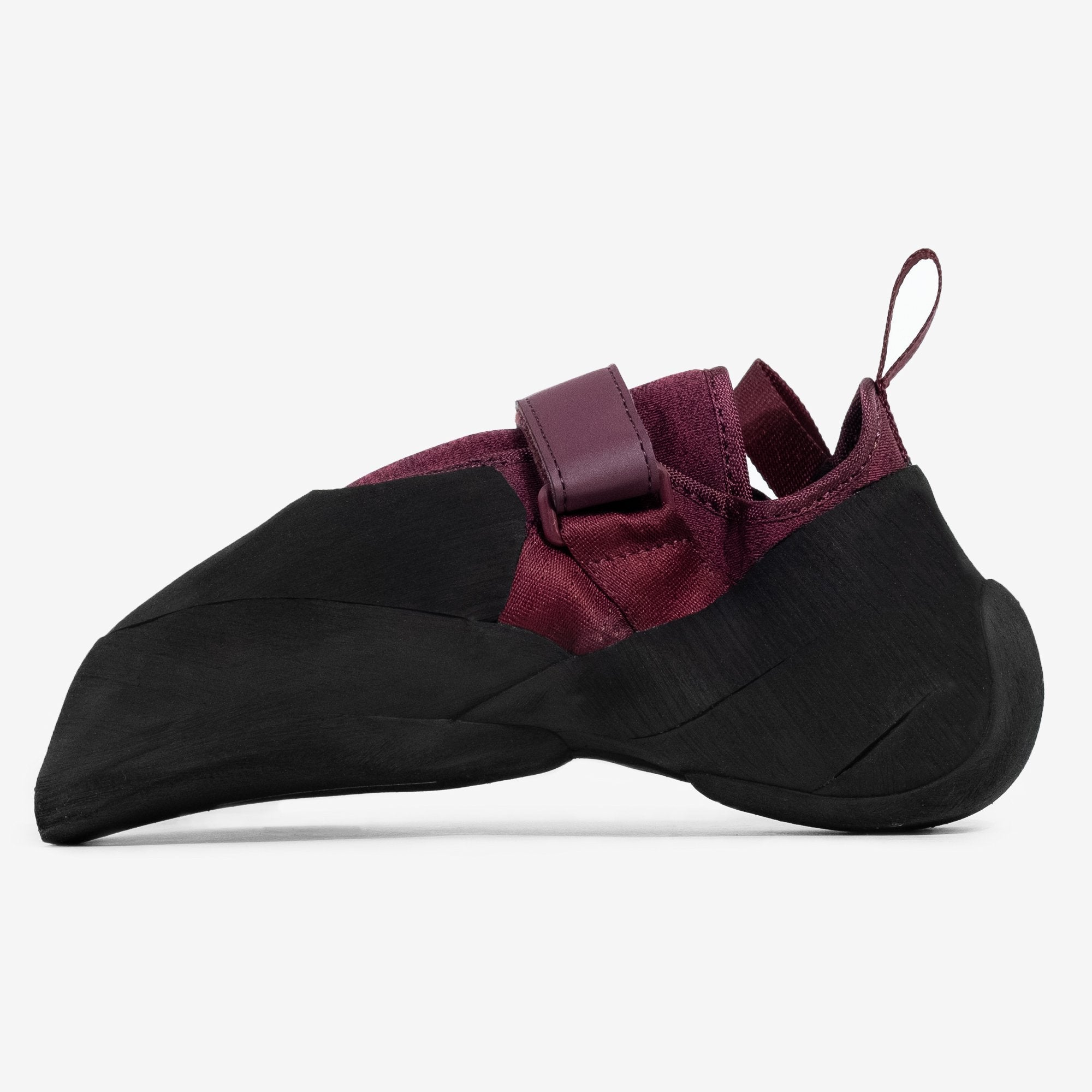 So iLL New Zero Pro Rock Climbing Shoe in Mineral/Maroon – Side View