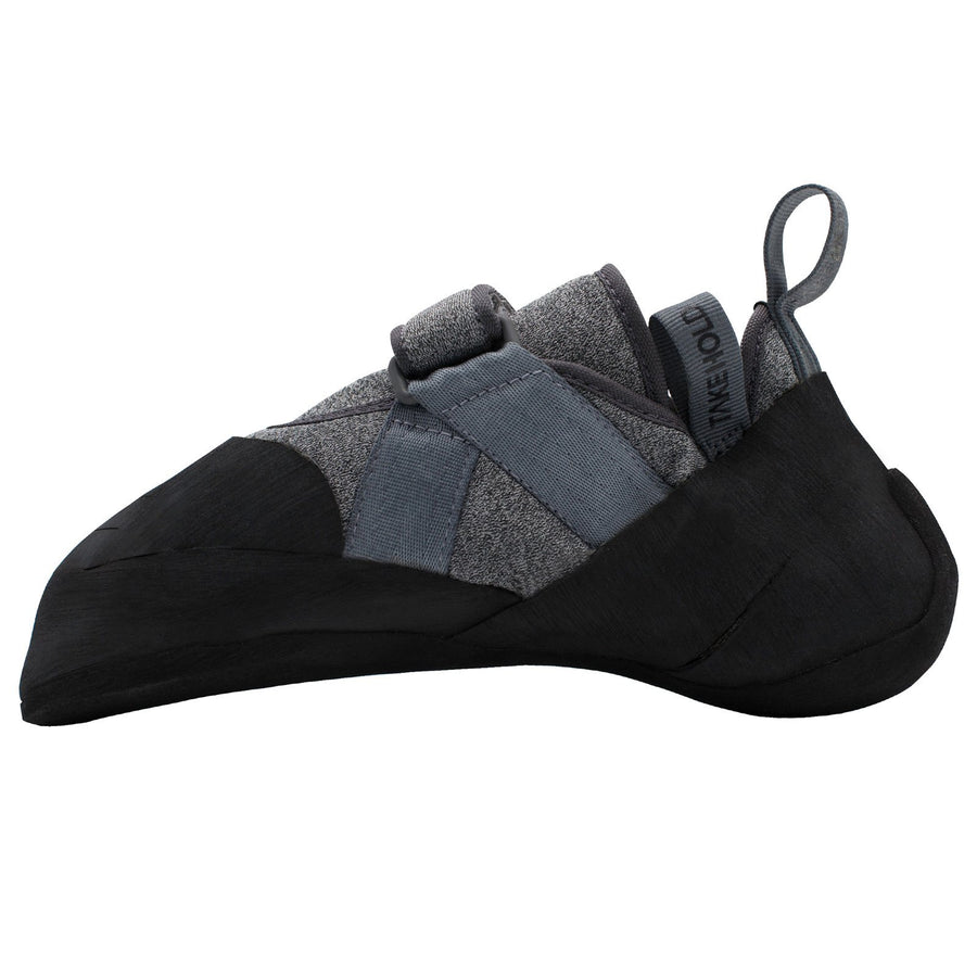 So iLL New Zero Rock Climbing Shoe in Grey – Side View