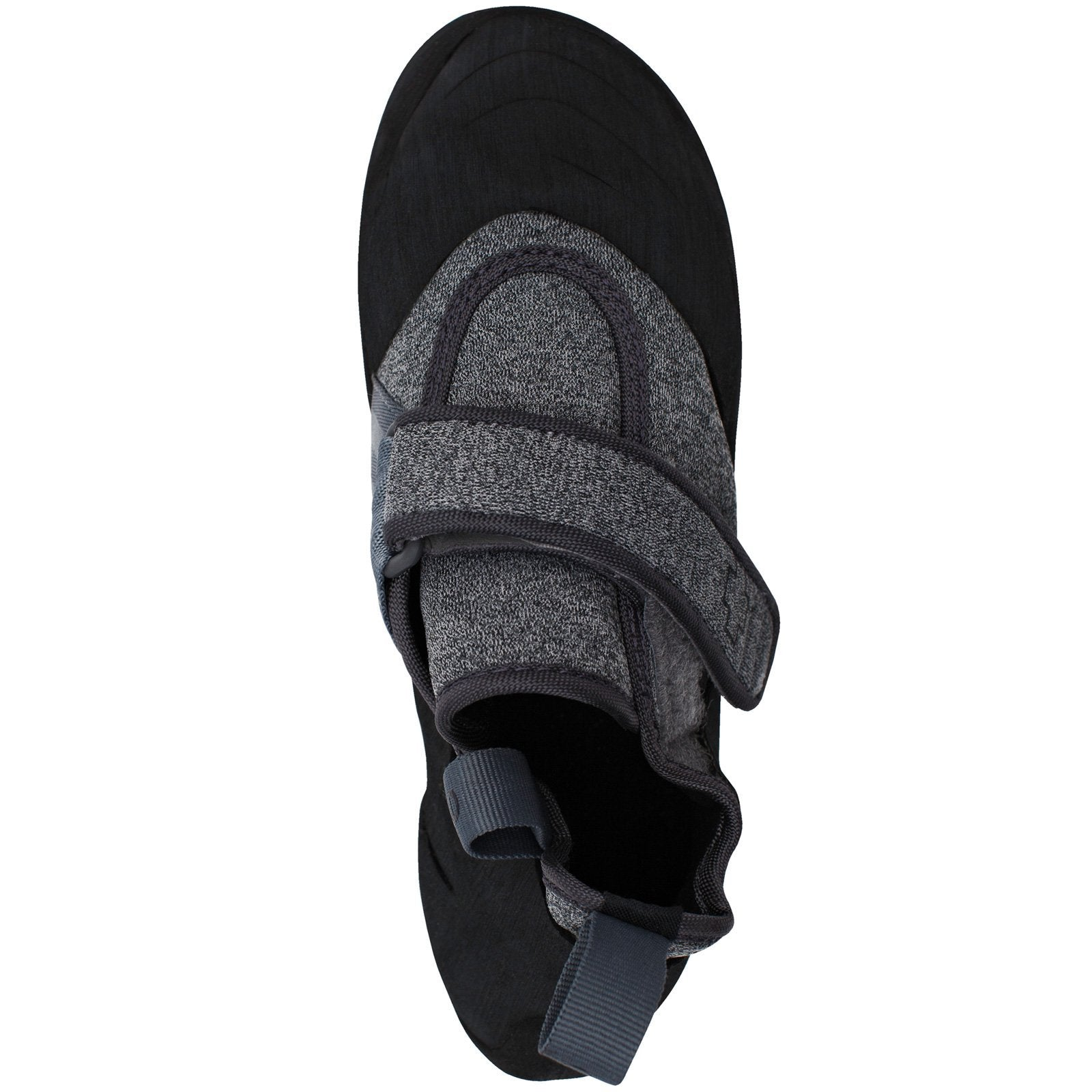 So iLL New Zero Rock Climbing Shoe in Grey – Top View
