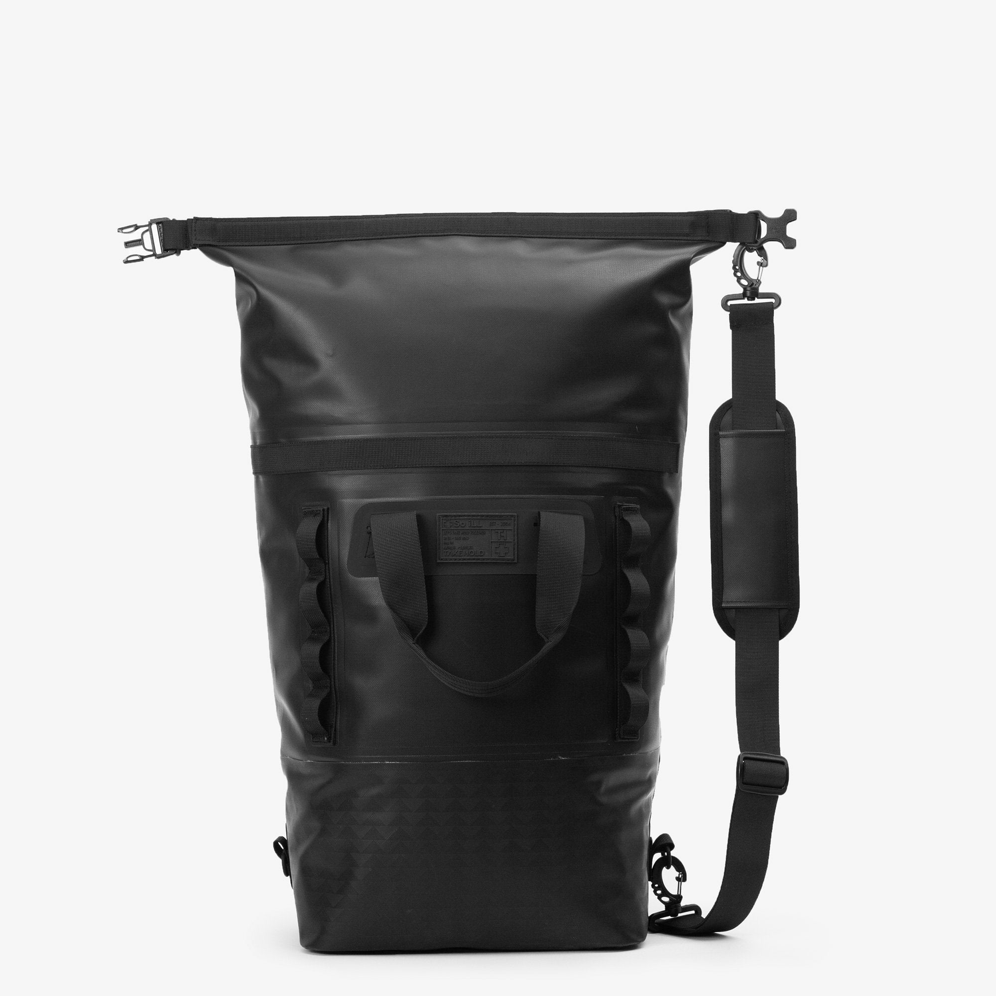 So iLL On the Roam Dirt Bag 25L Rock Climbing Kit Bag – Black
