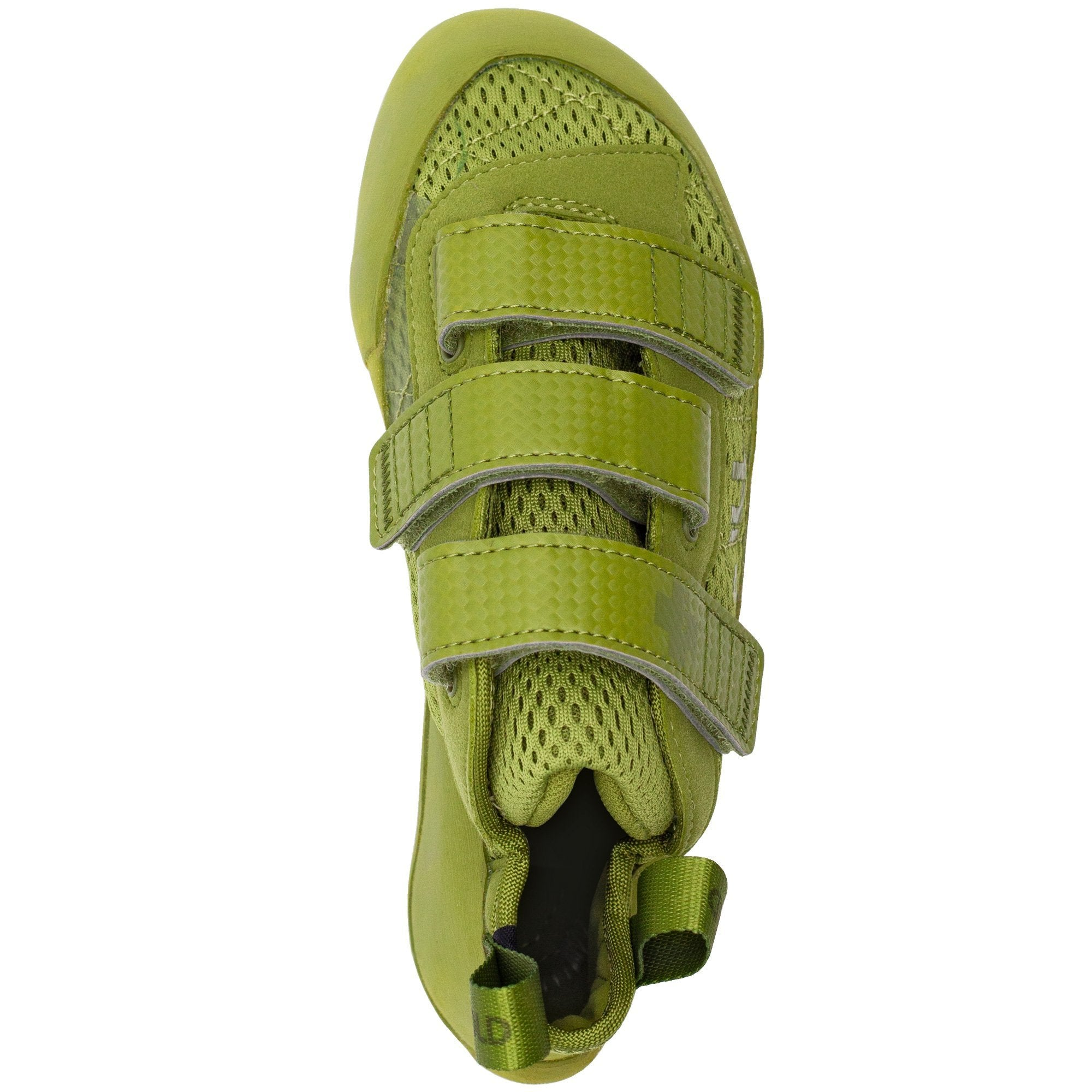 So iLL Runner LV Low Volume Women's Rock Climbing Shoe in Olive – Top View