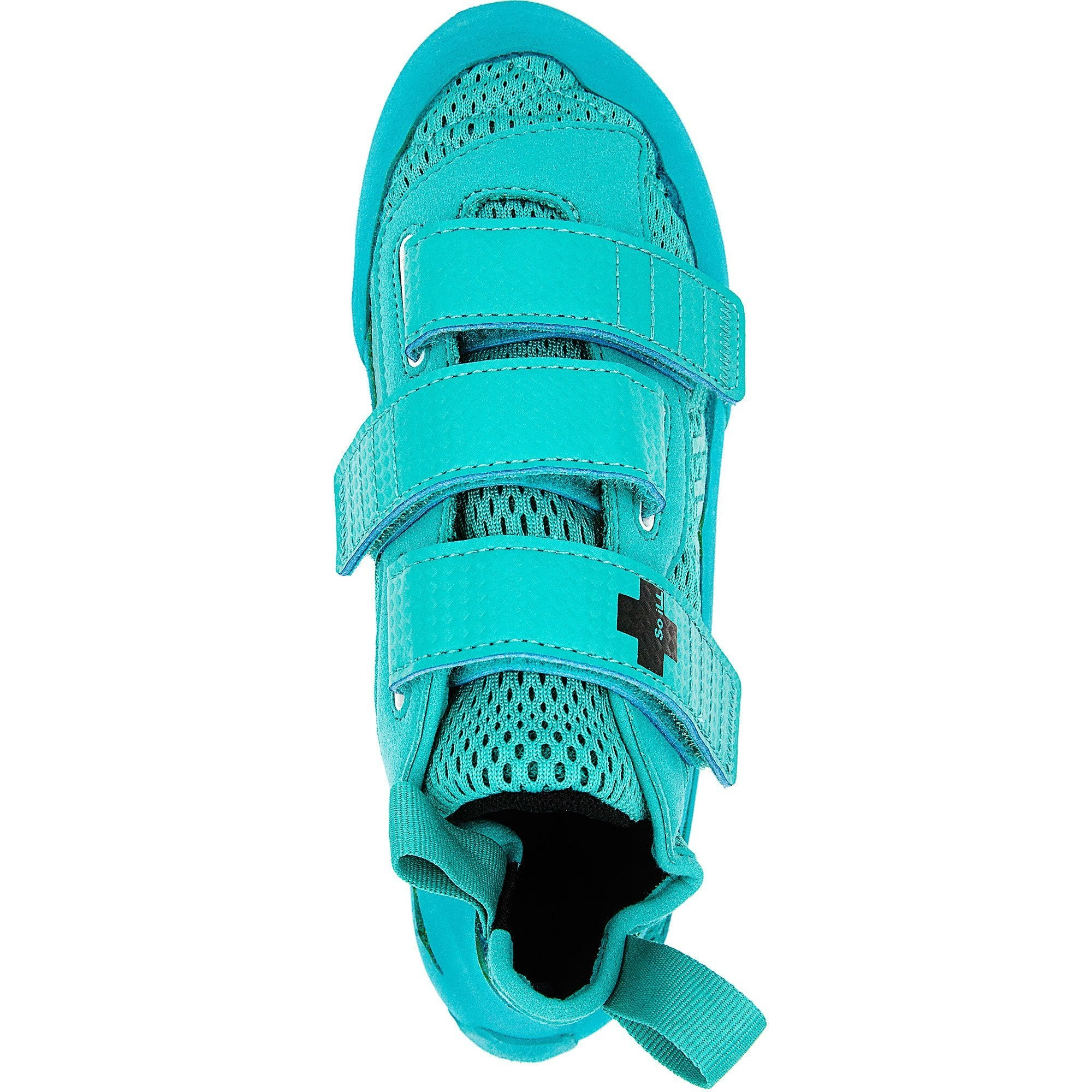 So iLL Runner Rock Climbing Shoe in Teal – Top View