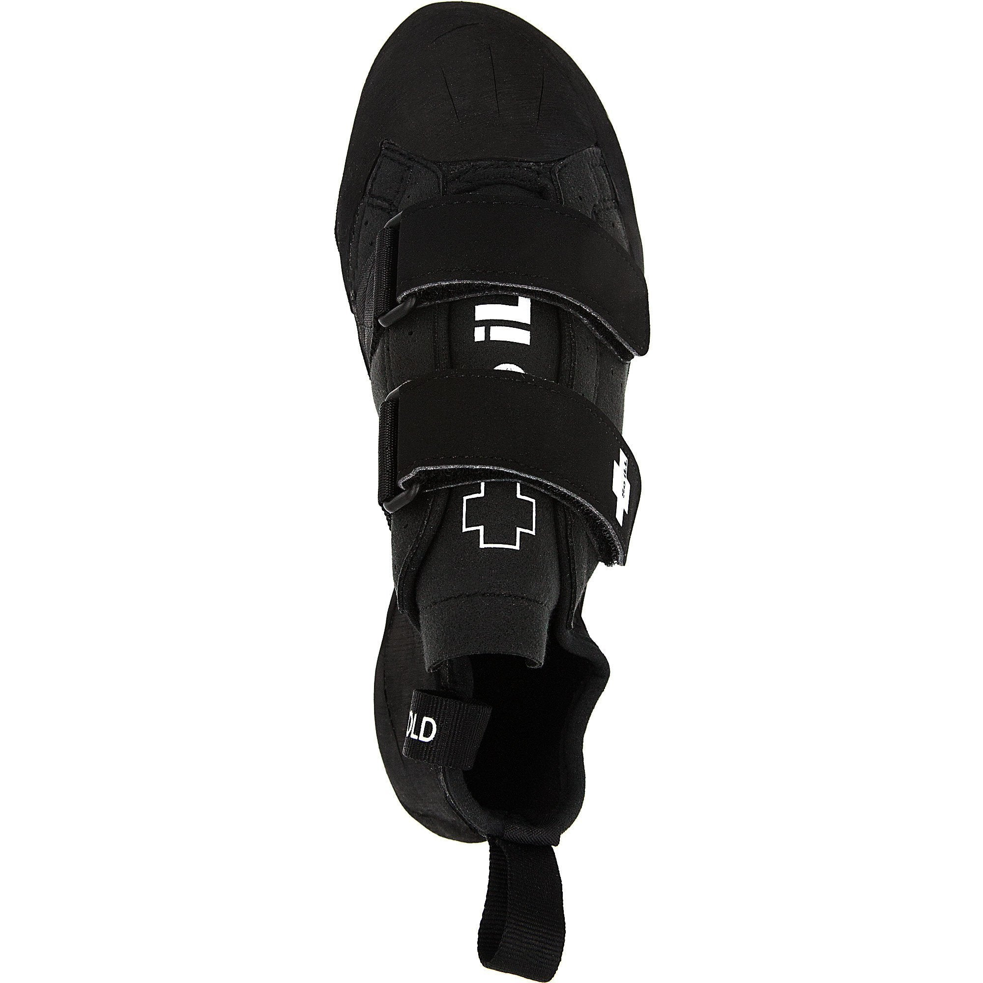 So iLL The Street Rock Climbing Shoe in Black – Top View