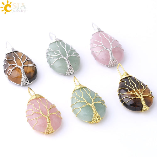 Tree of Life Wire Wrap Necklace