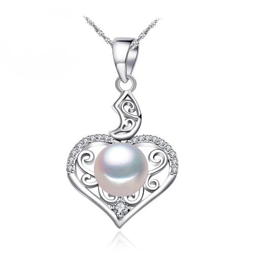 925 Heart Framed Necklace