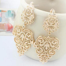 Load image into Gallery viewer, Lattice Love Earrings