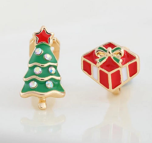 Festive Clip On Earrings