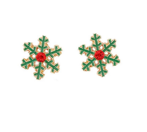 Christmas Selection Clip On Earrings